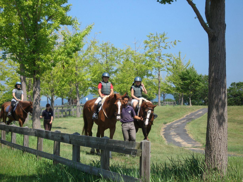 乗馬体験散策コース