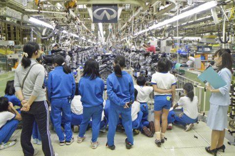日産工場見学